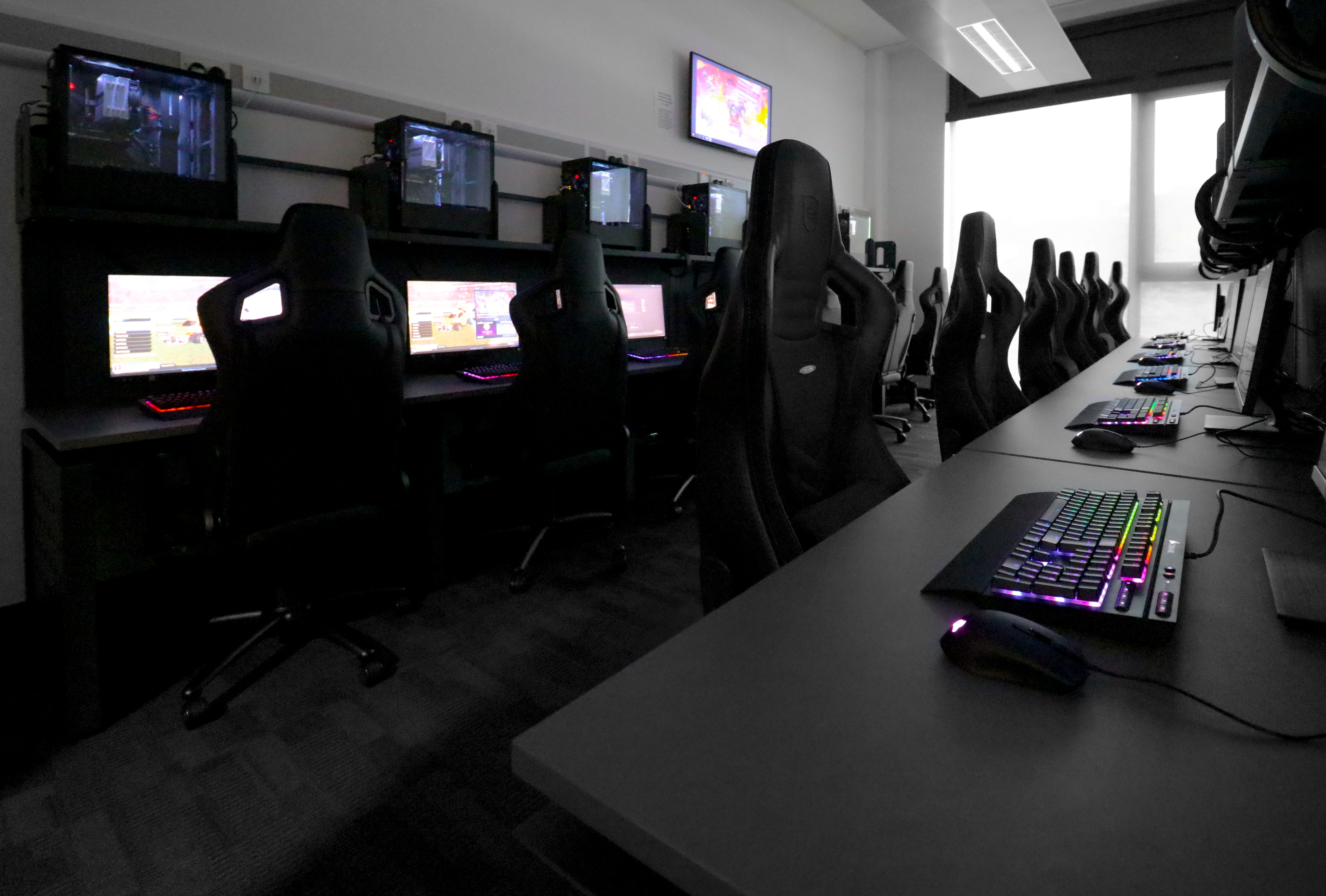 New Gaming room at Merthyr College
