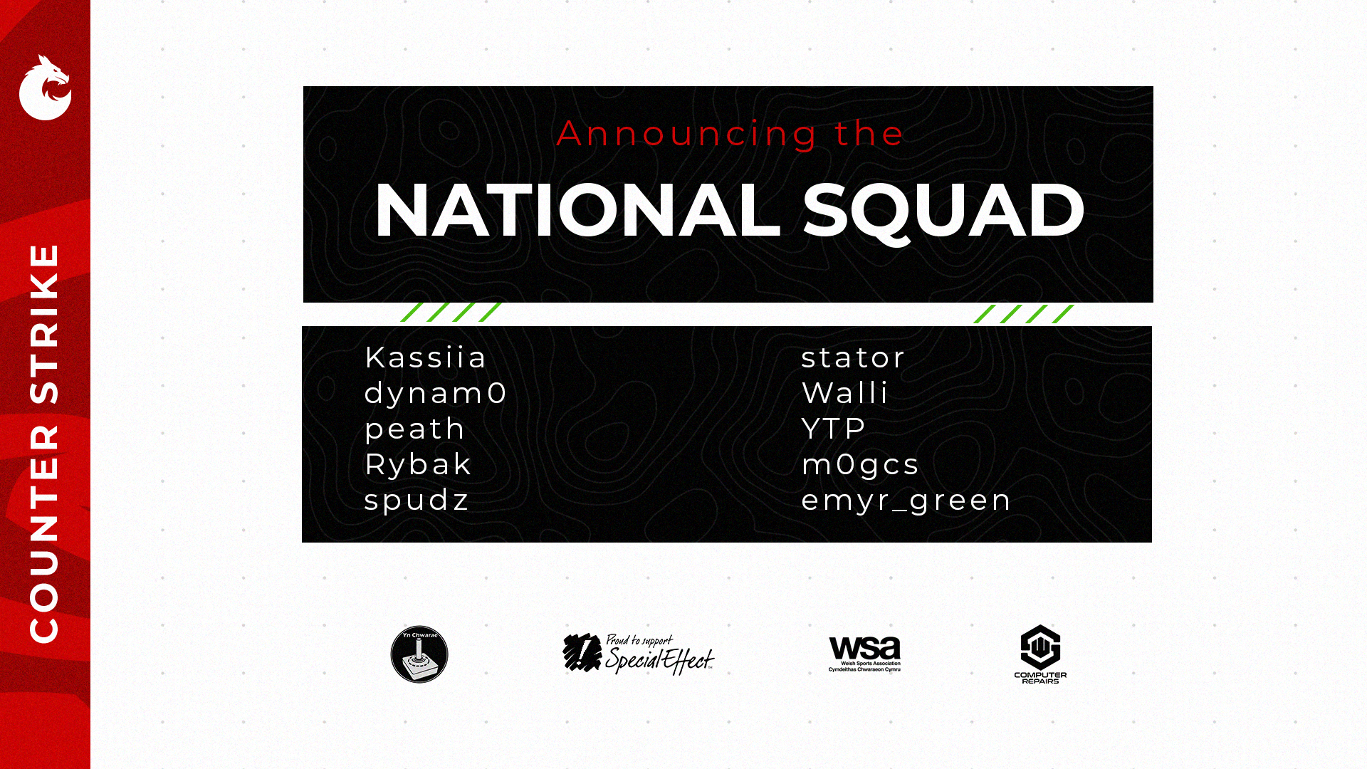 Counter Strike:Global Offensive Squad Announcement